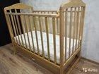 Кровать детская скв с матрасом Plitex