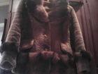 Увидеть foto  Продам шубу из мутона с отделкой из песца, 34262459 в Магнитогорске