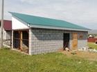 Продам дом в Ташбулатово. Дом на этапе строительства, коробк