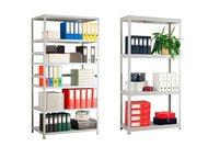 Стеллаж металлический универсальный Стандарт h-180 Базовые модели металлических стеллажей состоят из четырёх стоек, четырех полок (уголки, подпятники , Магнитогорск - Мебель и интерьер, благоустройство