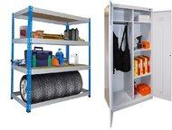 Магнитогорск: Стеллажи металлические складские Стеллаж металлический для хранения документов и мелких грузов в помещениях офисов, складов, в гаражах, на дачах.   На