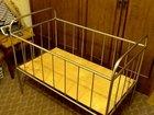 Детская кроватка-качалка из нержавеющей стали торг