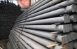 Продаем металлические столбы и сетку рабицу