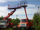 Фото в Услуги компаний и частных лиц Разные услуги Аренда телескопических автовышек 12, 18, в Москве 7500