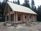 Смотреть foto  строительство загородных домов из бревна 34330255 в Москве