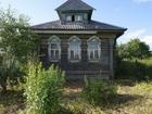 Скачать бесплатно foto Загородные дома Бревенчатый рубленый дом на фундаменте, в тихой деревне, 200 км от МКАД 34744138 в Москве