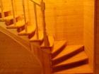 Изображение в Строительство и ремонт Строительство домов Лестницы из любых пород дерева (сосна, ясень, в Москве 0
