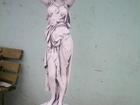 Скачать фото Мебель для дачи и сада Скульптура из бетона Девушка подиум 39252652 в Москве