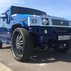 Продается синий Хаммер (Hummer) H2 2006