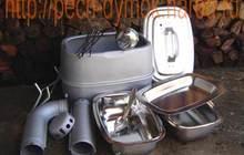 Туристическая печь Дымок в наличии