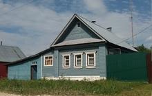 Дом над Окой в поселке городского типа