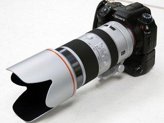 Уникальное фотографию Разное объектив SONY SAL 70-400/4-5, 6 G SSM 32497046 в Москве