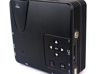 Увидеть foto Другая техника Мультимедийный мини-проектор мод, H100 ( AV VGA SD USB HDMITV) 32624340 в Москве