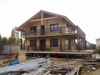 Просмотреть изображение Строительство домов Дома из профилированного бруса 59604060 в Moscow