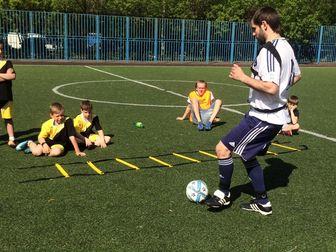 Скачать бесплатно фотографию Спортивные школы и секции Обучение Детей Техники Футбола с Футбольными Тренажерами 66453330 в Москве