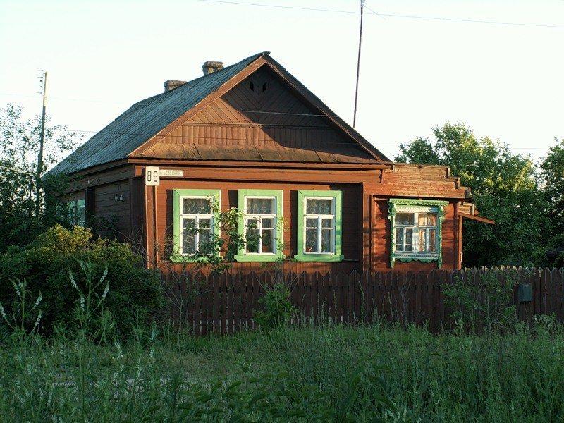 Землю в Кос дом в деревне