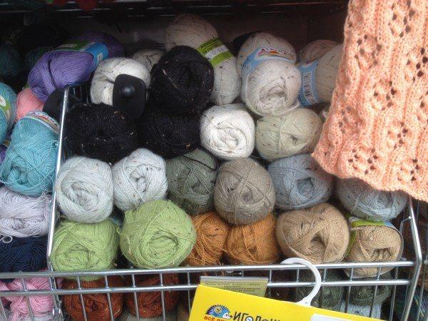 Нитки для вязания челябинск