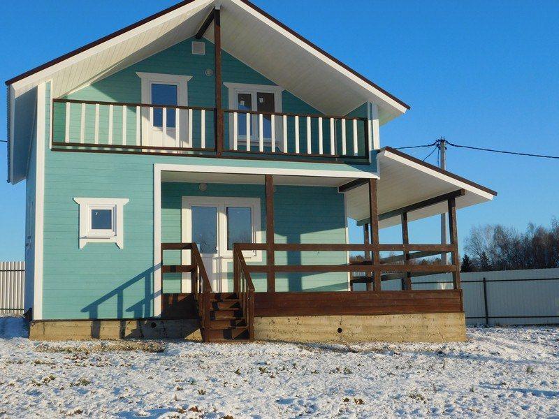 Купить готовый зимний дом недорого