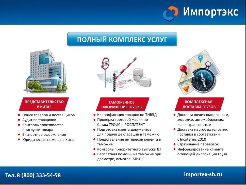 экспорт товаров и таможенное оформление из китая в россию доступ