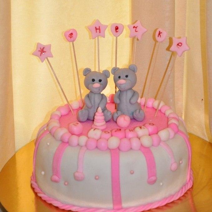Детские торты для девочки рецепты с своими руками