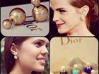 Скачать фотографию  Три пары серег Dior со скидкой 50% 33231199 в Москве