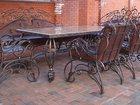 Изображение в   Кованый столовый гарнитур:стол (столешницу в Краснодаре 0