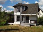Скачать изображение  Прекрасный двухуровневый деревянный дом в благоустроенном коттеджном посёлке 33506523 в Москве