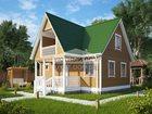 Скачать бесплатно фотографию Строительство домов Строительство домов из профилированного бруса 34929093 в Москве