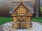 Изображение в Строительство и ремонт Ландшафтный дизайн Купить эксклюзивные домики для колодцев и в Москве 25000