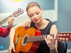 Фото в   Уроки игры на гитаре.   50 песен с нуля за в Москве 0