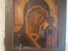 Увидеть изображение Антиквариат икона божья матерь казанская 19век поленов, в, д 37885443 в Москве