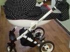 Просмотреть foto Детские коляски Продаем практически новую коляску DPG Glamour 3 в 1 на гарантии 38300033 в Москве