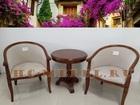 Новое фото Столы, кресла, стулья Чайная группа: 2 кресла, и столик в подарок 38481242 в Москве