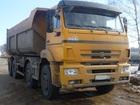 Фотография в Авто Грузовые автомобили Камаз 65201-63  Год выпуска 2012  Желтый в Москве 1500000