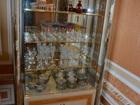Свежее фото Мебель для гостиной Витрина сервант шкаф с подсветкой фабрика Turri Kristall с хрусталем 120х50х195 38729460 в Москве