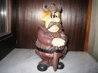 Увидеть фотографию Коллекционирование Статуэтка фигурка из металла Викинг с мечом в коллекцию, подарок 38767774 в Москве