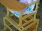 Скачать фотографию  Деревянный стульчик-трансформер для кормления 38929344 в Шарье