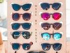 Смотреть фото  Солнцезащитные очки ручной работы в оправе из натурального дерева и безопасными линзами BLACKWOOD 38969687 в Москве