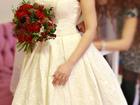 Смотреть foto Свадебные платья Продам элегантное свадебное платье 39308387 в Москве