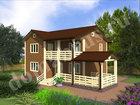 Увидеть фото  Строительство деревянных домов и бань под ключ, 39652354 в Москве