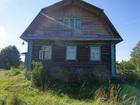 Увидеть фотографию Загородные дома Крепкий бревенчатый дом в тихой деревне, рядом с речкой, 270 км от МКАД 40327396 в Москве