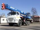 Увидеть фото Спецтехника Автокран 25 тонн КС-55713-5К-4 Клинцы (новый) 43468668 в Калининграде
