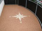 Уникальное foto Отделочные материалы Каменный ковер – наливной пол из цветного песка и гальки 46452825 в Екатеринбурге