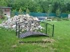 Скачать foto  Кованый садовый мостик любого размера 62286916 в Москве