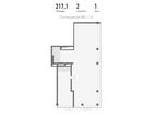 Продается нежилое помещение площадью 217,1 м2 на 1 этаже 10