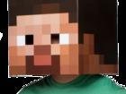 Свежее изображение  Голова Маска Стива из Майнкрафт от PENIVAIZ 66506176 в Москве