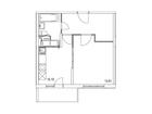 Продается 1-комн. кв-ра площадью 37,79 кв.м на 11 этаже 25 э