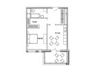 Продается 1-комн. кв-ра площадью 64,9 кв.м на 15 этаже 17 эт