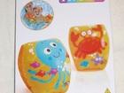 Новое изображение Детские игрушки Надувные нарукавники Веселые морские обитатели 68825504 в Москве
