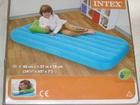 Скачать фотографию Детская мебель Надувная кровать -матрас детская зеленая с подушкой 88х157х18 см 69639338 в Москве